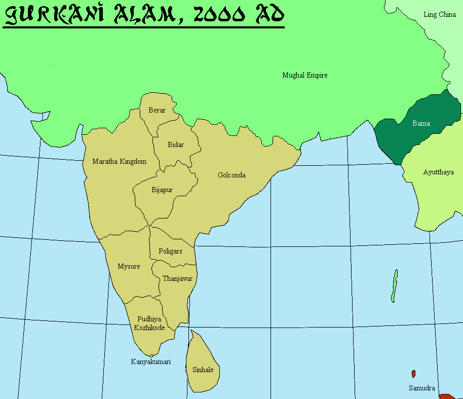 mughal_world_map_india5