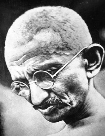 Mahatma Gandhi portrait, 1931. Image Source: Wikimedia