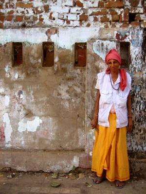 A_female_sadhu_in_Jamalpur,_Gujarat