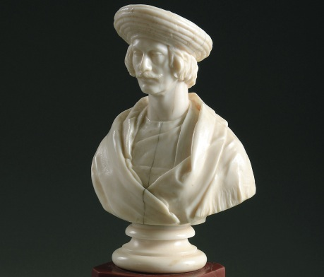 A bust which Roy actually had the patients to sit for (unlike many portraits of him). Image Source