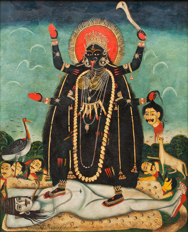 goddess kali and shiva relationship